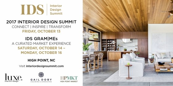 2017 Interior Design Summit Moves To Fall High Point Market